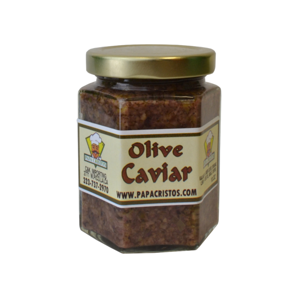 Greek olive caviar spread