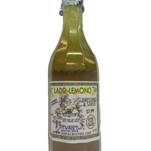 Greek lemon salad dressing