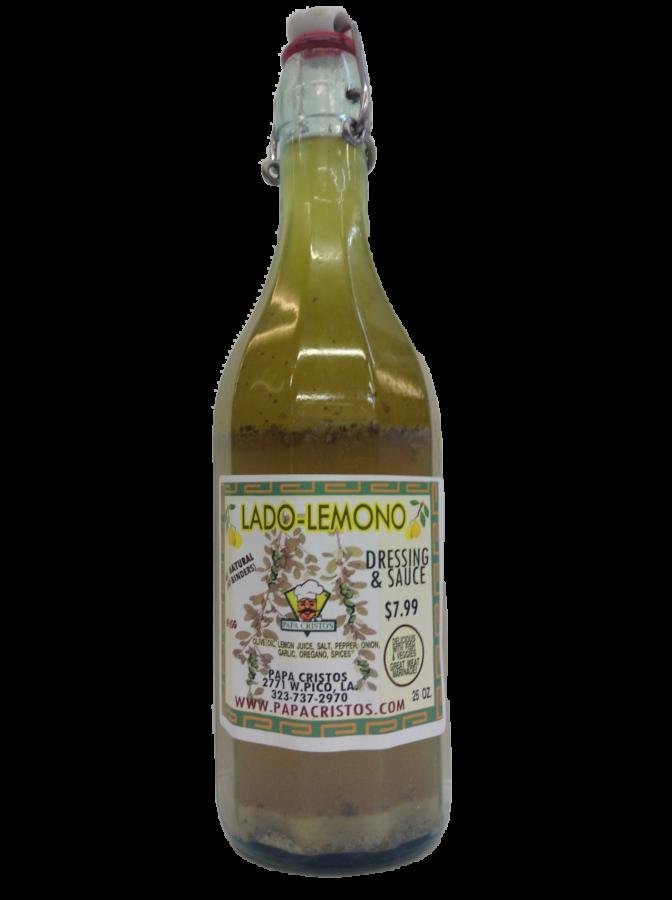Greek lemon salad dressing