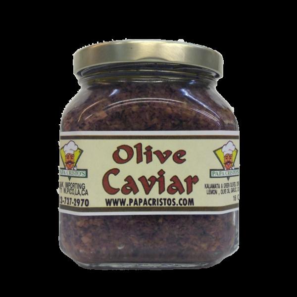 Olive Caviar Papa Cristo's