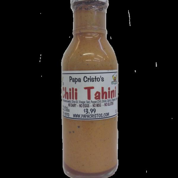 Greek chili sauce