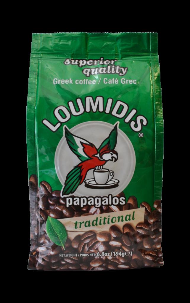 Papagalos Greek Coffee