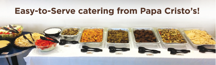 Catering - Papa Cristo's | Best Downtown LA Greek Food
