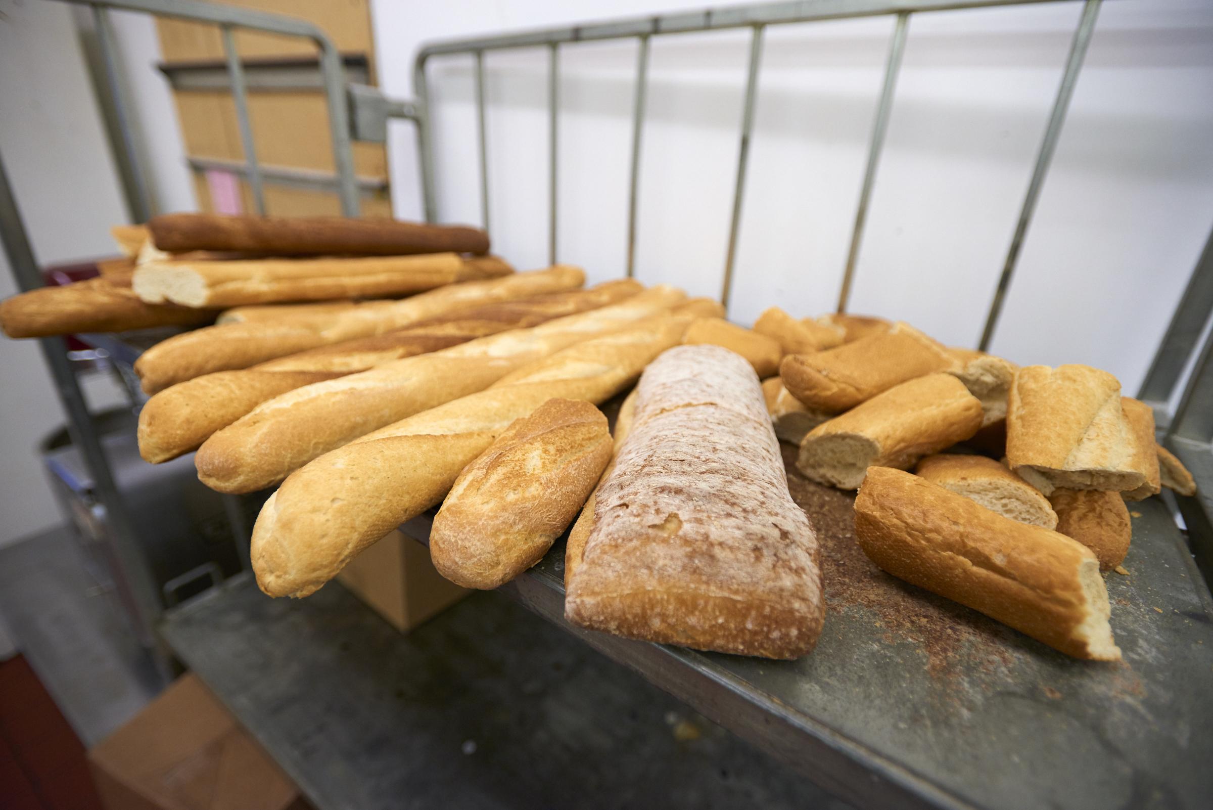 Papa Cristo's homemade bread